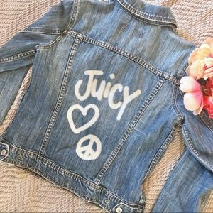 Denim Jacket from Early 2000s by Juicy Couture.